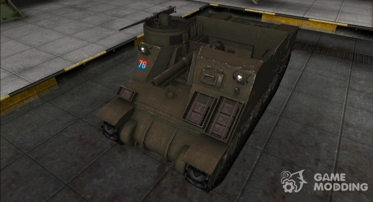 The skin for the M7 Priest
