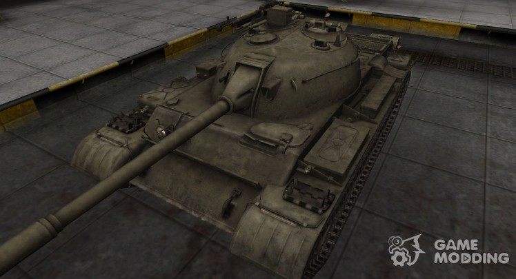The skin for the Chinese Type 62 tank