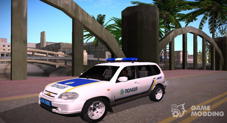 Chevrolet Niva GLC 2009 the national Police of Ukraine V1