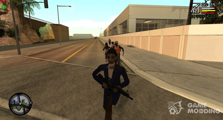 Save for Zombie Andreas v 1.1 - Survival (with cheats)