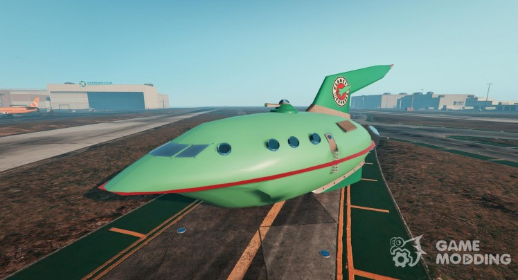 Planet Express Ship BETA3