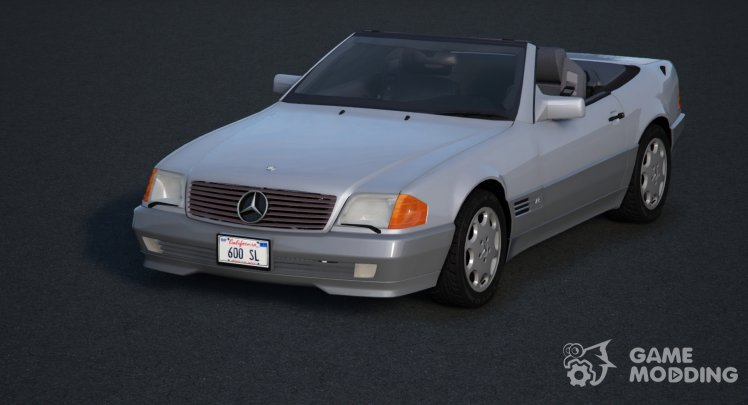 1993 Mercedes-Benz 600 SL
