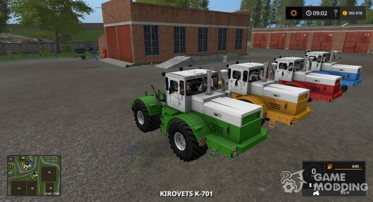 Kirovets K-701 MA version 1.2.0