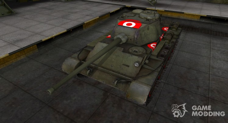 Зона пробития для Т-44