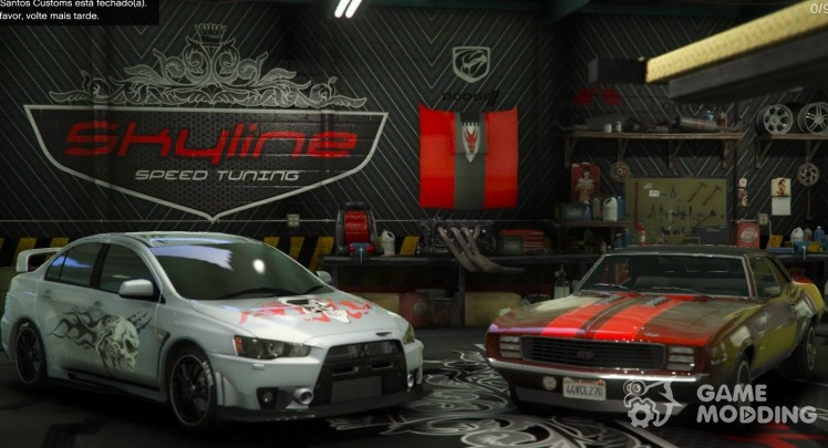 Skyline Speed Tuning Garage 2.0