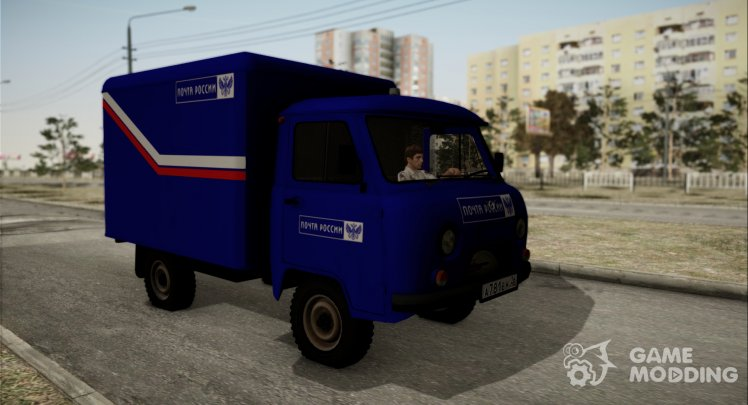 UAZ 3303 golovastik Mail of Russia