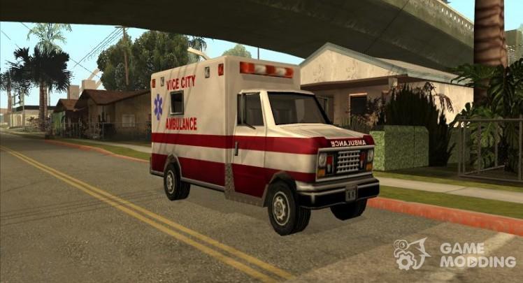 Ambulance from Vice City