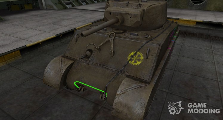 Contour zone breakthrough M4A3E2 Sherman Jumbo