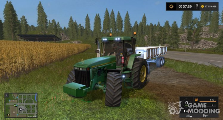 John Deere 8400 for Farming Simulator 2017