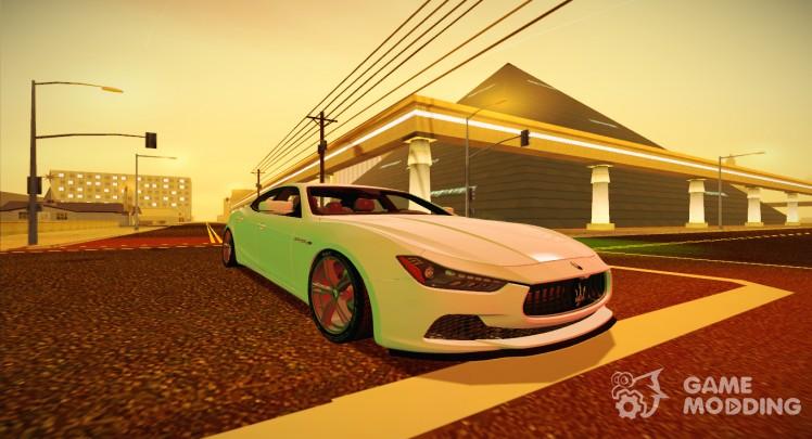 Maserati Ghibli S 2014 v1.0