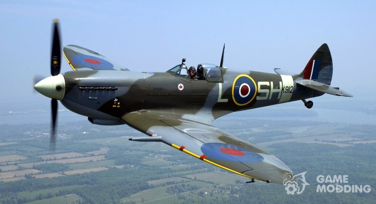 Supermarine Spitfire Sounds