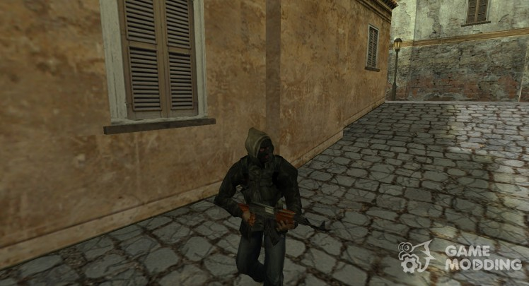 S.T.A.L.K.E.R Gopnik with mask