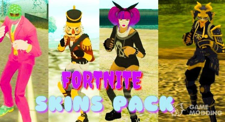 Fortnite Skins Pack V1
