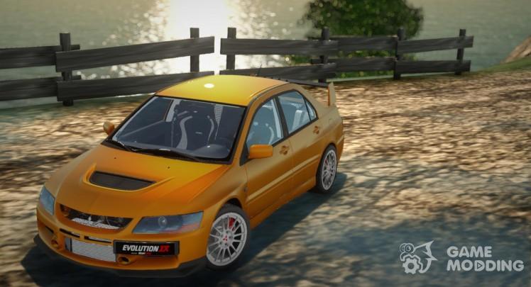 Mitsubishi Lancer Evolution IX Stock