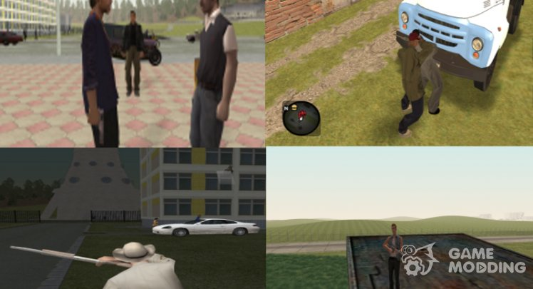100 Missions for the global ORM modification GTA Criminal Russia beta 2