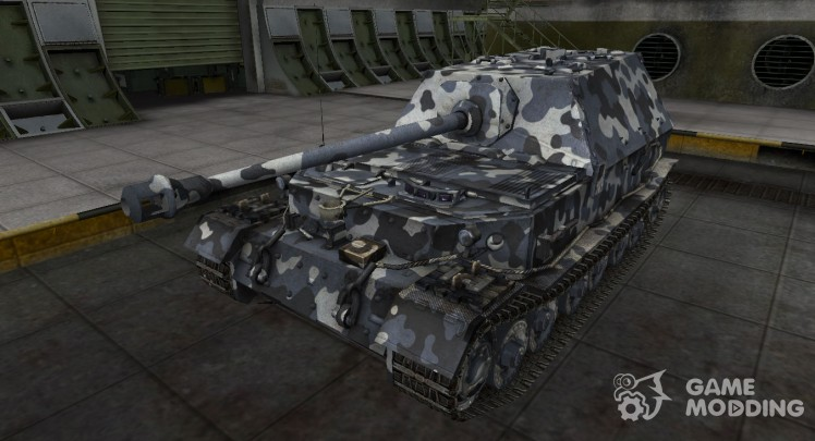 German tank Ferdinand for World Of Tanks