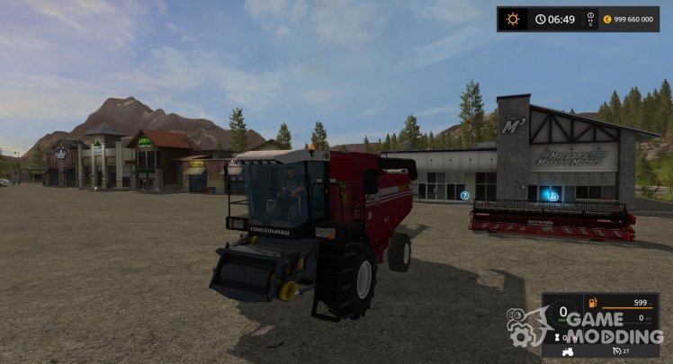 Palesse GS 12 for Farming Simulator 2017
