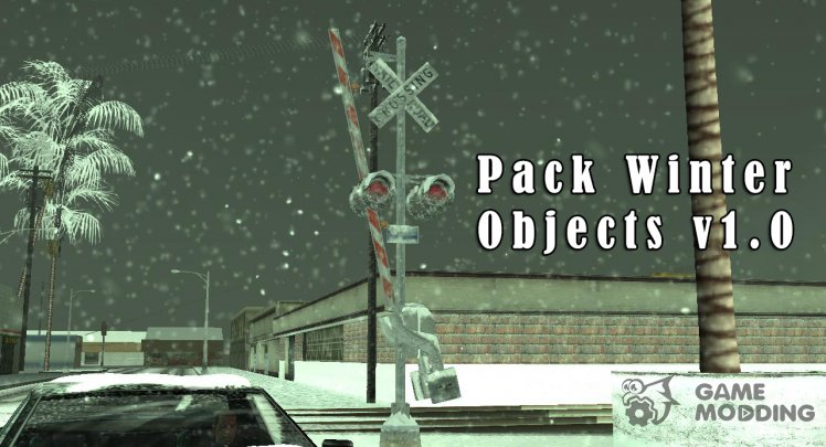 Winter Pack Objects v1.0