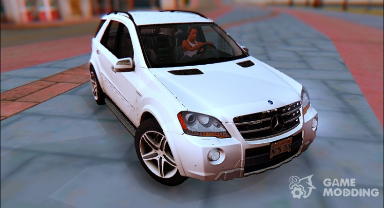 Mercedes-Benz ML 63 AMG v2.0 2009