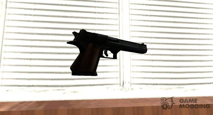 GTA IV Desert Eagle Black