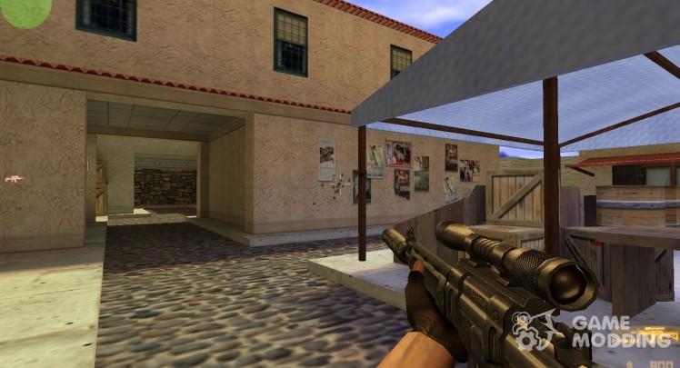 Sako M95 (silenced, w scope)