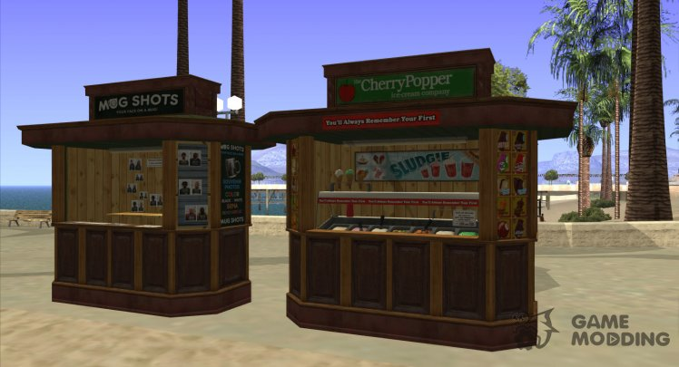 Kiosks from GTA V (Normal Map)
