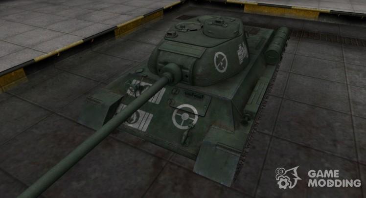 Зоны пробития контурные для T-34-1