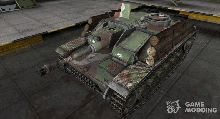 The skin for the StuG III (+ remodel)