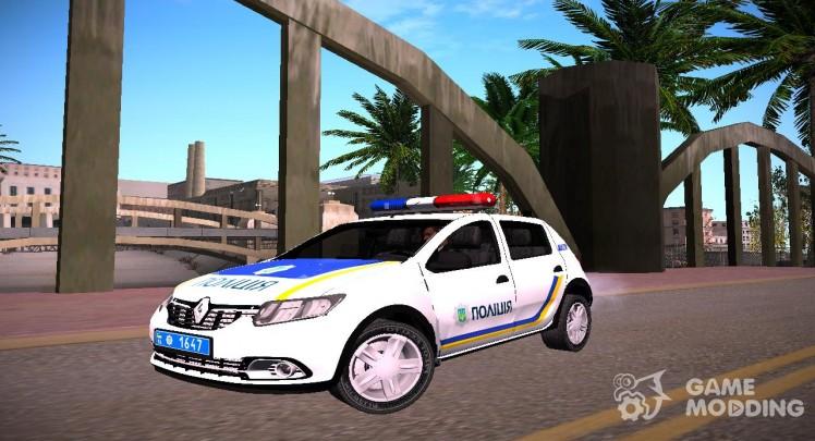 Renault Sandero 2013 Police Of Ukraine