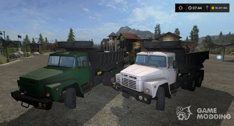 KrAZ 250 for Farming Simulator 2017