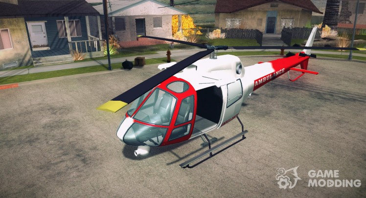 GTA V Ambulacia Maverick
