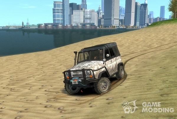 Old UAZ-469 (offroad)