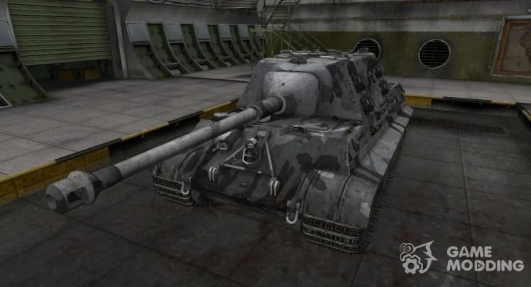 Emery cloth for German tank 8.8 cm Pak 43 JagdTiger