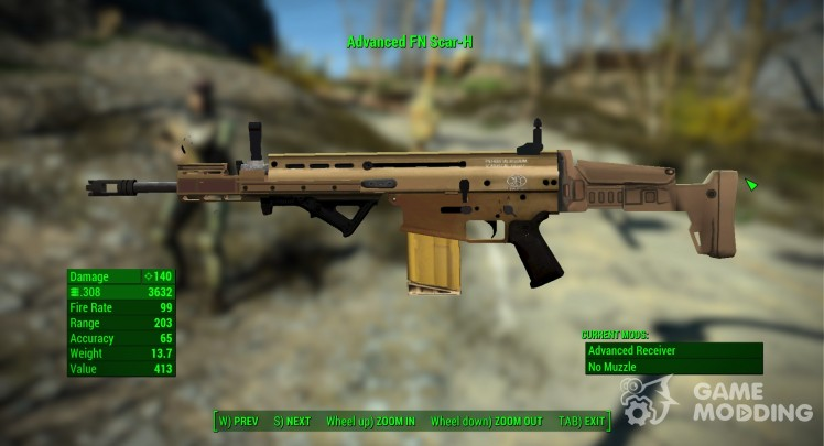 Weapons for Fallout 4