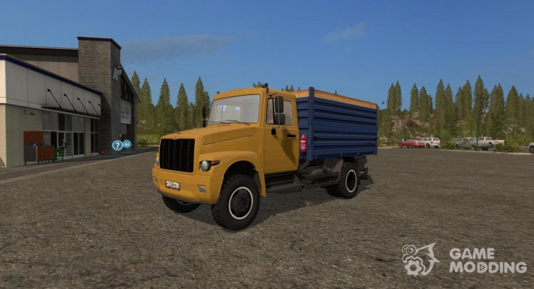 GAZ-3309 Dobrynya and trailer Saz 83173 version 1.2