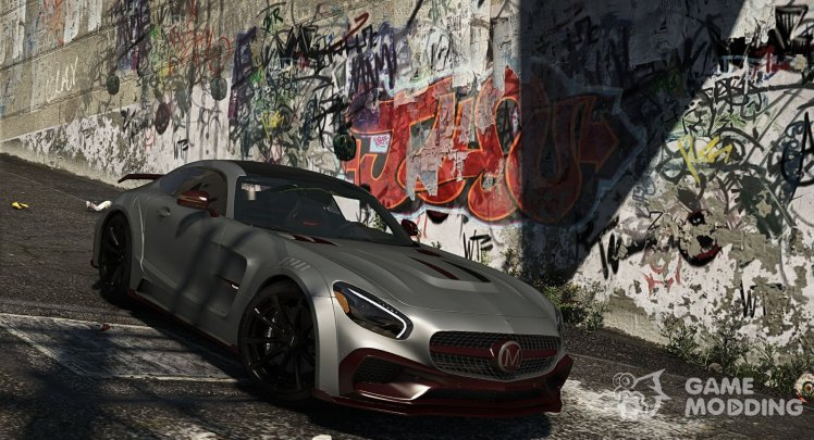 Mercedes-Benz AMG GT S Mansory