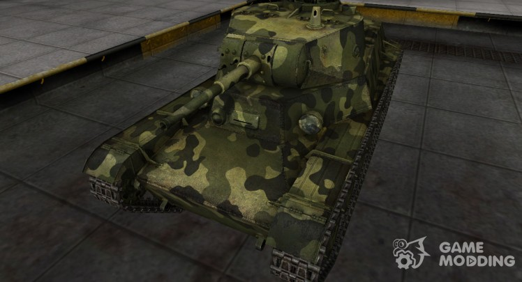 Skin for t-50-2 with camouflage