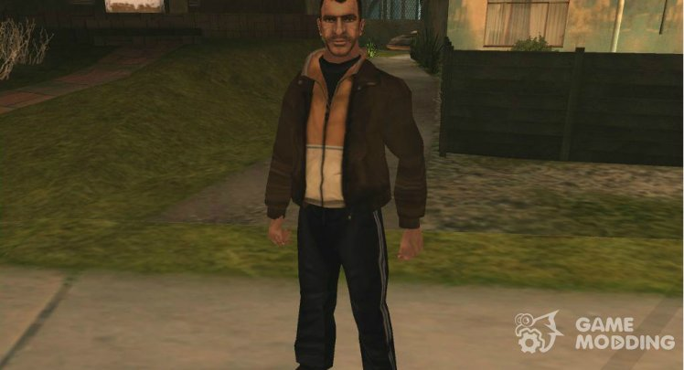 Niko Bellic LQ Player.Img BETA (2008)