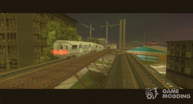 New train from the game True Crime-New York City