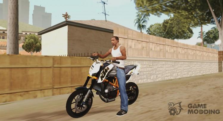 KTM for GTA San Andreas