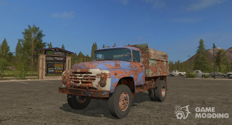 ZIL-4502 Rusty version 5.6