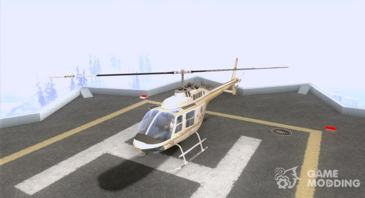 Bell 206 B Police texture4