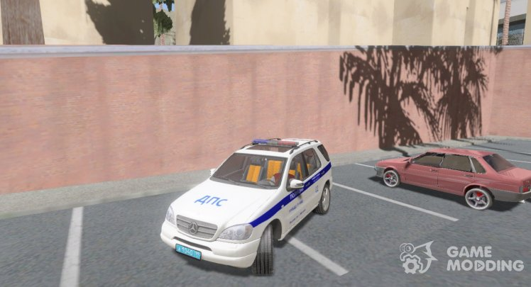 Mercedes-Benz ML Police DPS