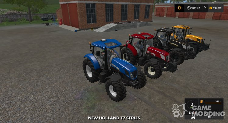 New Holland T7 Series, the version 1.2.0.0
