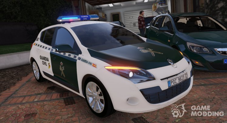 2009 Renault Megane Guardia Civil