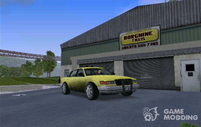 A taxi from GTA IV