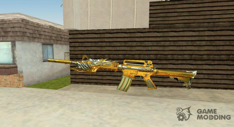 CF M4A1-S Beast Noble Gold