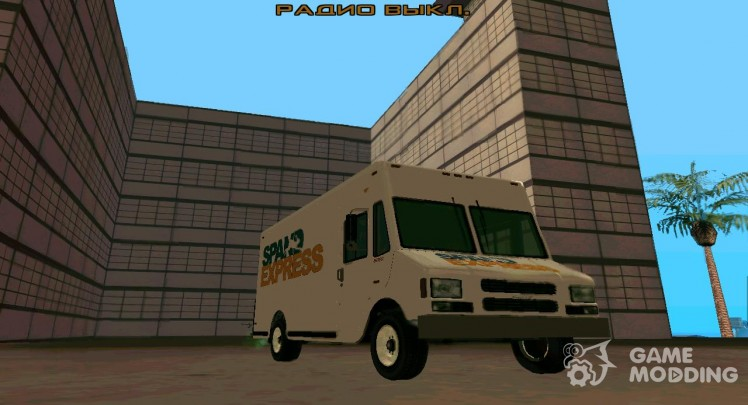 GTA IV Brute Boxville with SpandEx livery