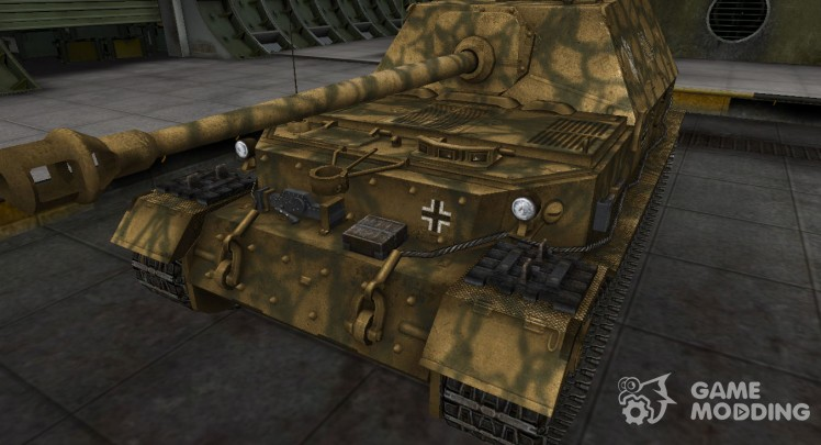 German skin for Ferdinand for World Of Tanks
