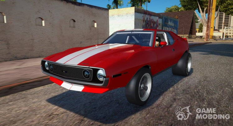 AMC Javelin AMX 401 1971 Drag v2 for GTA San Andreas